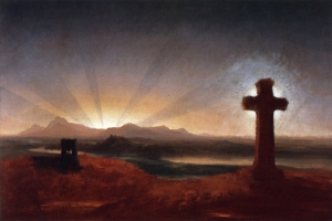 Cole,_Thomas_-_Cross_at_Sunset_-_c._1848_