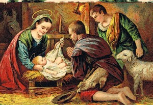 Jesus_in_manger_postcard_1910