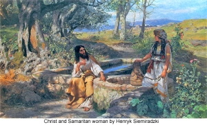 Henryk_Siemiradzki_Christ_and_Samaritan_woman_500