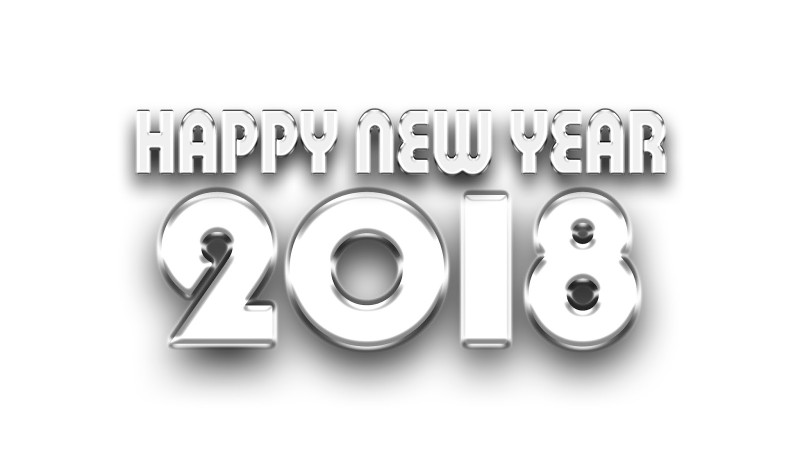 Happy-New-Year-2018-3d-Text-Card